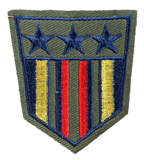 Patch Embroidered - Lieutenant General - US Army Intelligence