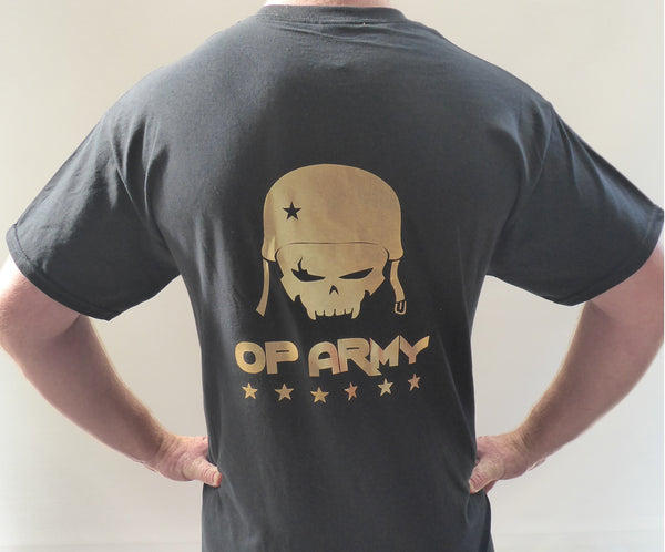 Outpost 43 Shirt Black/Gold