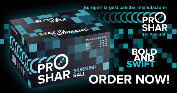 Pro Shar Skirmish Paintballs
