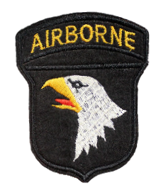 Patch Embroidered - Airborne Eagle