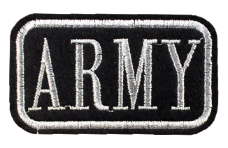 Patch Embroidered - ARMY