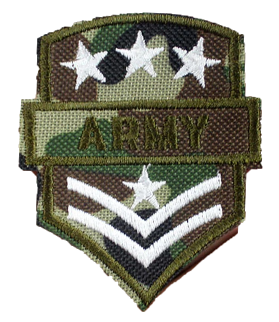 Patch Embroidered - Army Crest
