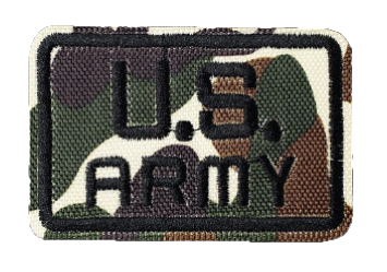 Patch Embroidered - U.S. ARMY