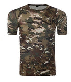 Fast Dry Multicam Tactical T-Shirt