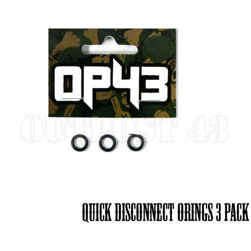 OP43 Quick Disconnect O Ring 3 Pack