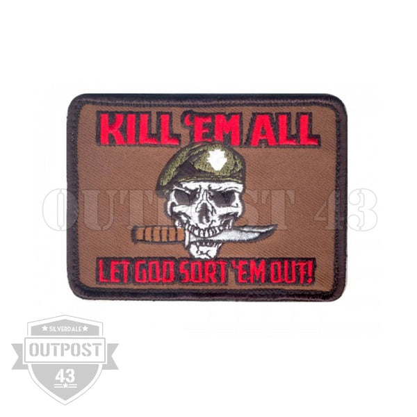 Patch Embroidered - Kill Em All