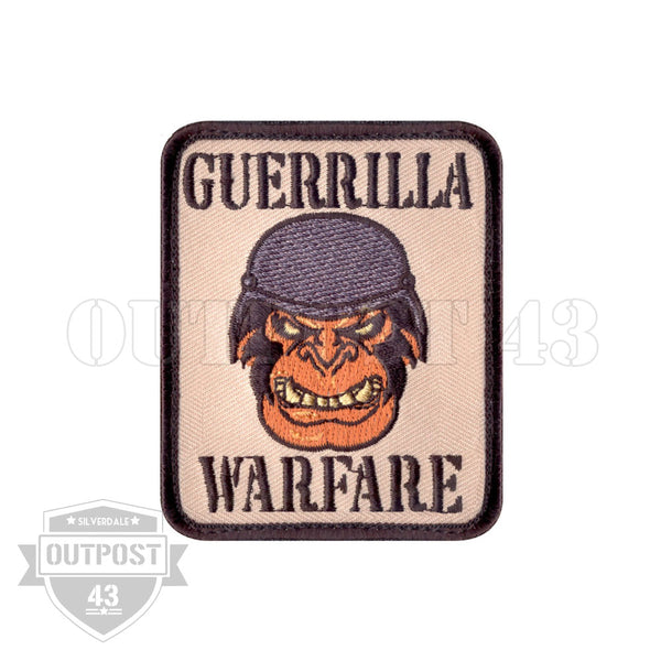 Patch Embroided - Guerilla Warfare