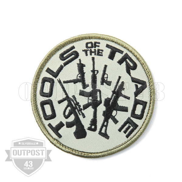 Patch Embroidered - Tools of the Trade