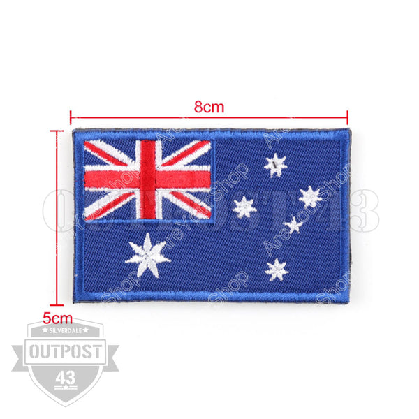 Patch Embroided - Flag Australia