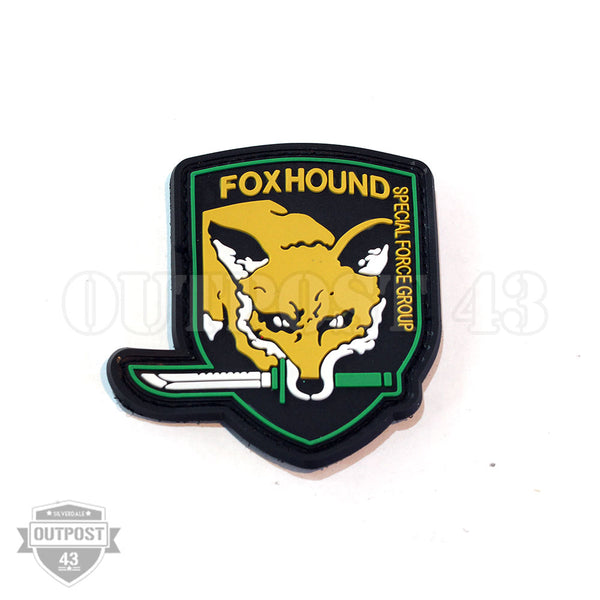 Patch PVC - Fox Hound
