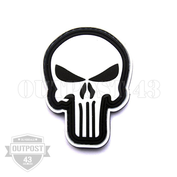 Patch PVC - Punisher Skull