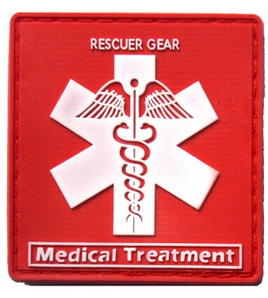 Patch PVC - Rescuer Gear