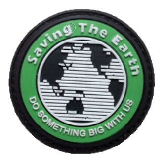 Patch PVC - Saving The Earth