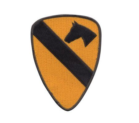 Patch Embroided- 1st cavalry