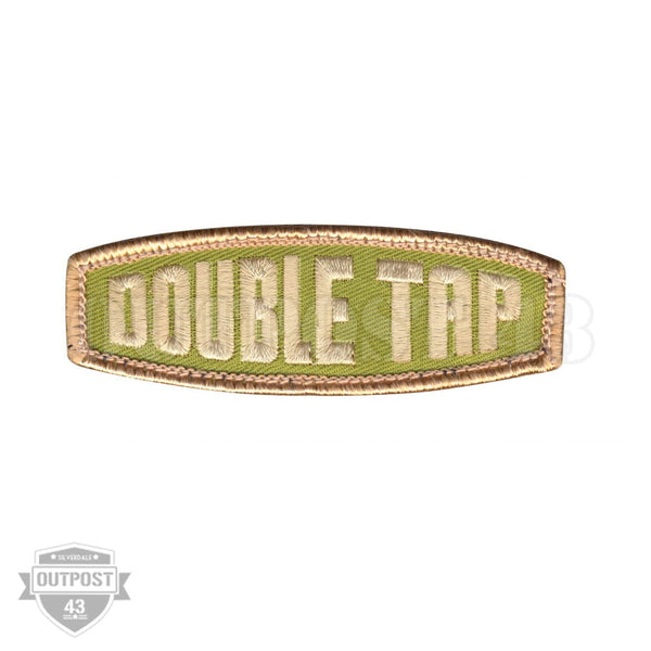 Patch Embroided- Double Tap