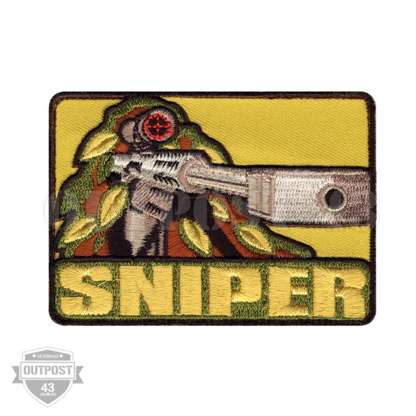 Patch Embroided - Sniper