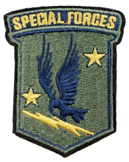 Patch Embroidered - Special Forces
