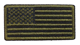 Patch Embroidered - U.S. Flag