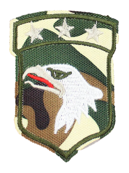 Patch Embroidered - Lieutenant General - Airborne
