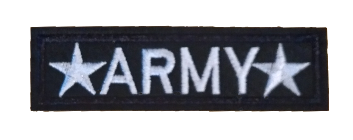 Patch Embroidered - *ARMY*