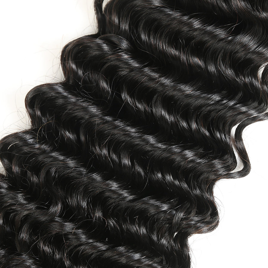 Deep Wave Human Hair Weave Alimicevirginhair