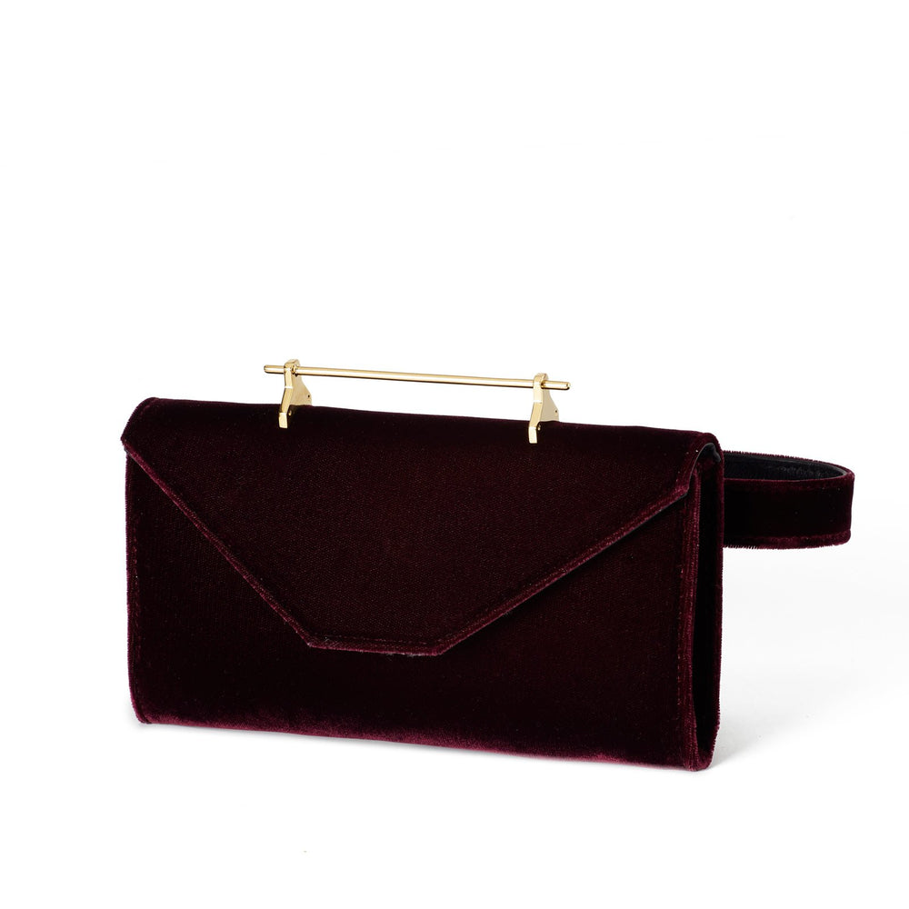 Belt Bag Plum Velvet