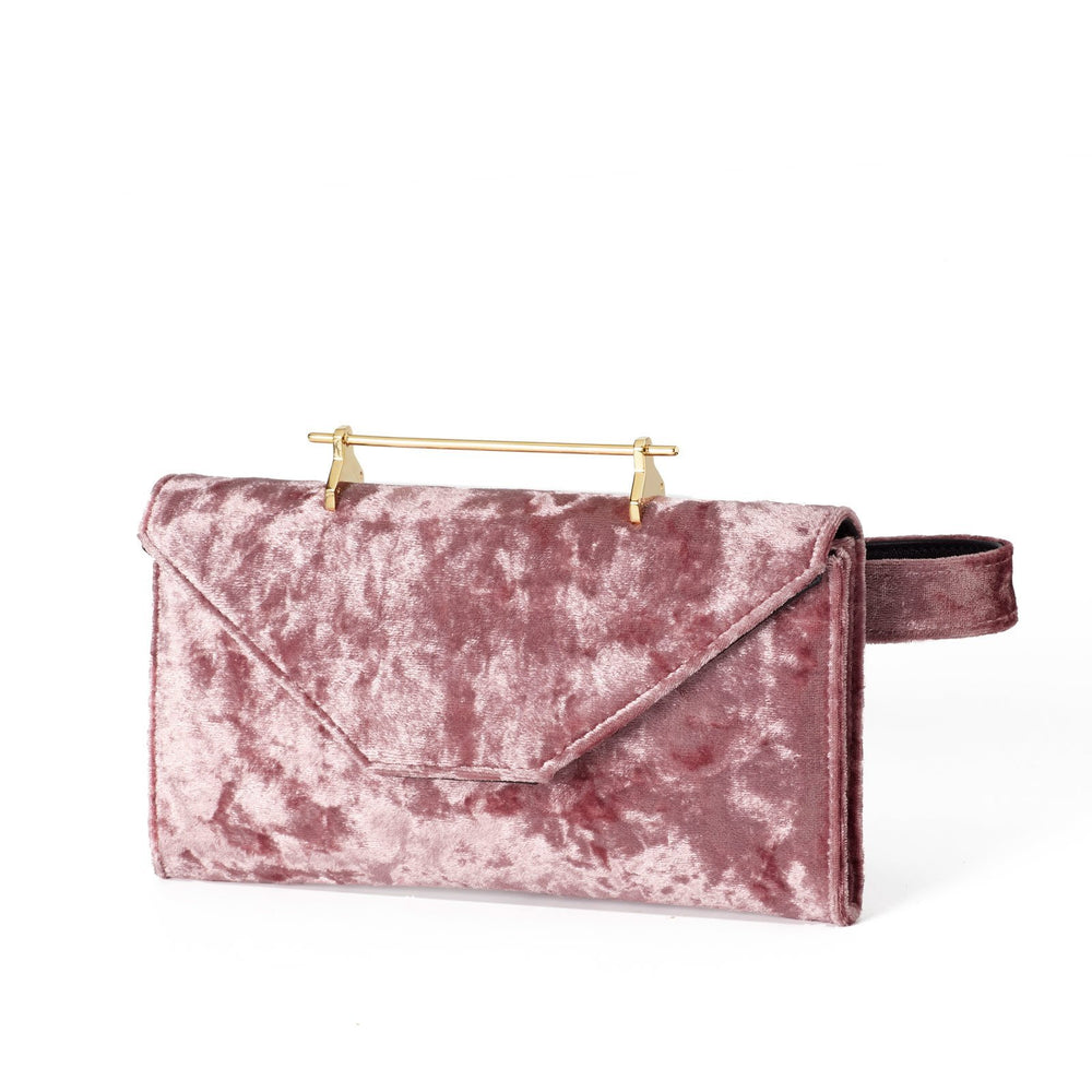 Belt Bag Blush Velvet