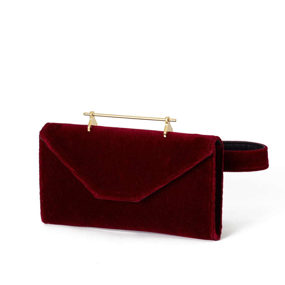 Belt Bag Cherry Velvet