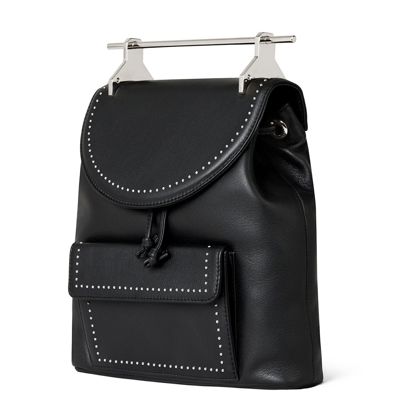 Backpack Black With Silver Studs