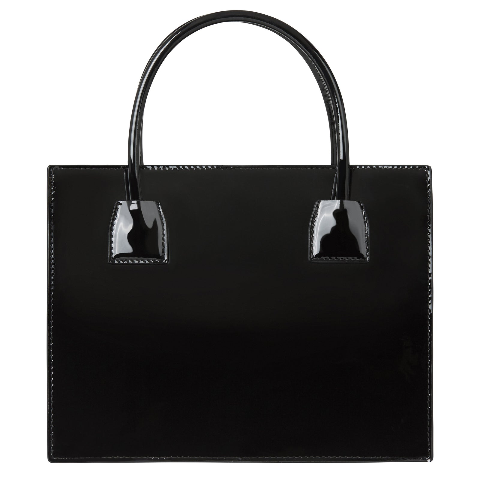 Mini Tote Black Patent