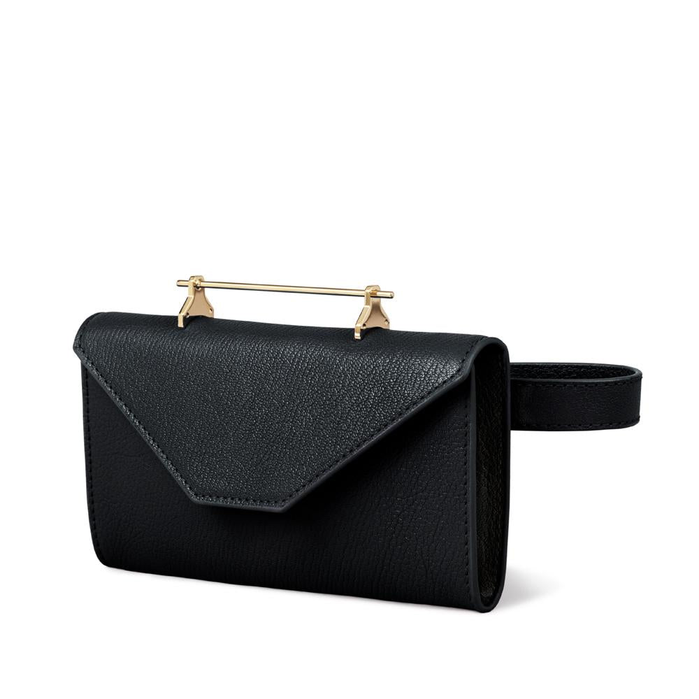 Belt Bag Black Leather