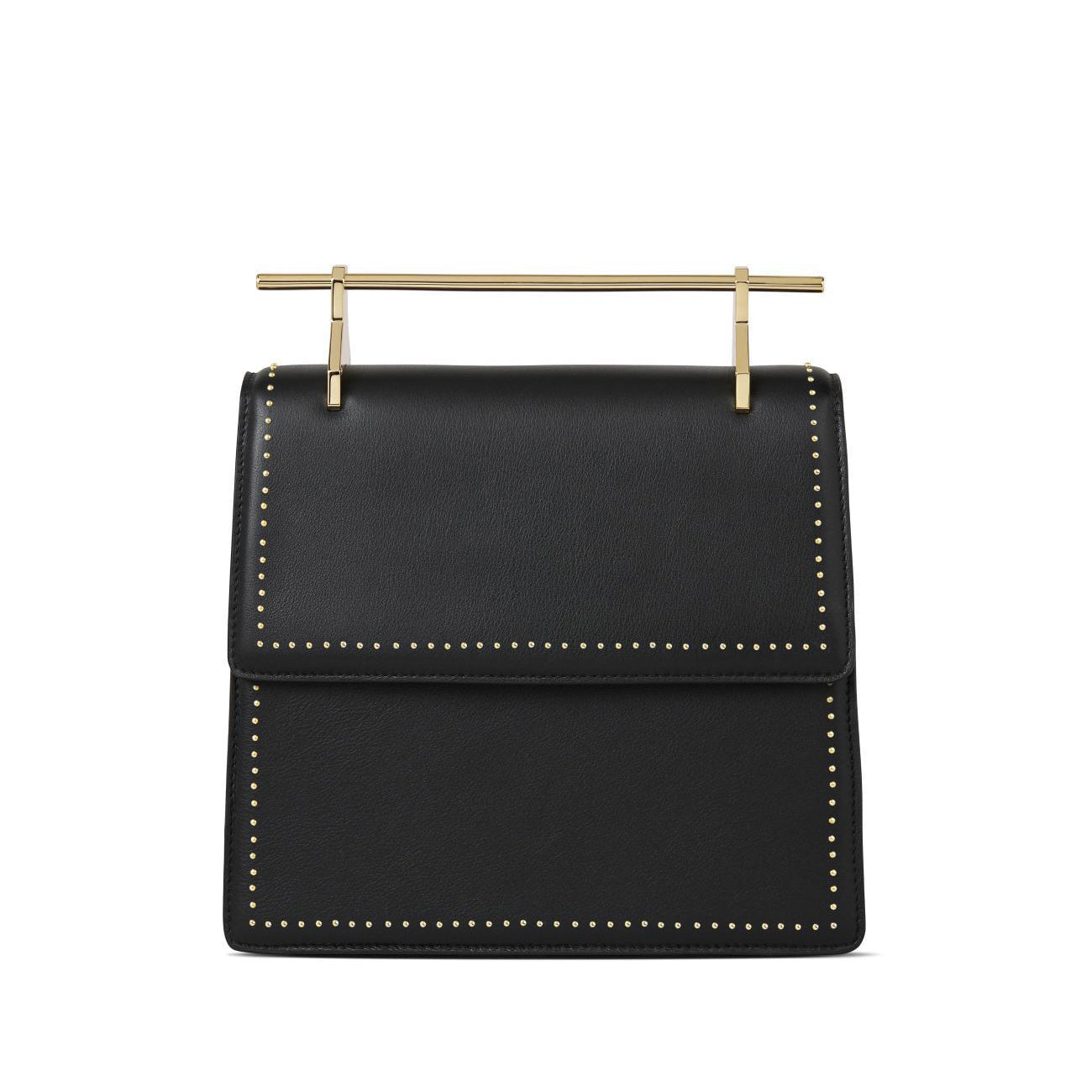 La Collectionneuse Black With Gold Studs