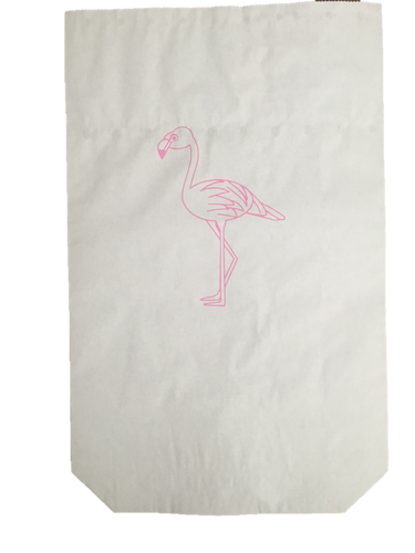 Speelgoedzak Paperbag Flamingo