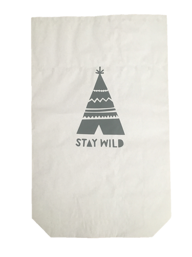 Speelgoedzak Paperbag Stay Wild