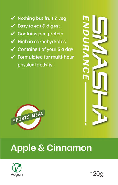 SMASHA Endurance multi-pack: Apple Cinnamon + Mango Passion (10)