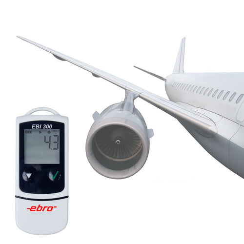 EBI 300 Data loggers for monitoring temperature on the move