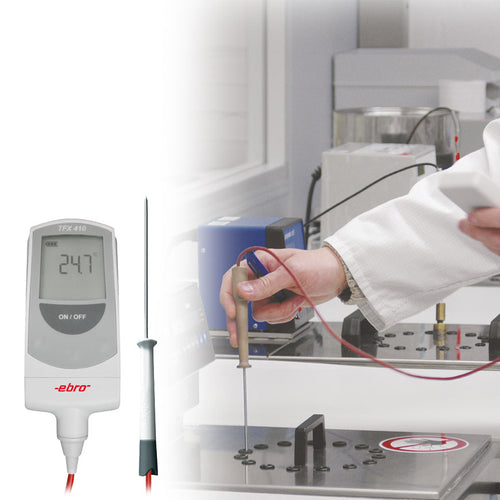 Precision core thermometer with detachable probe - TFX 410