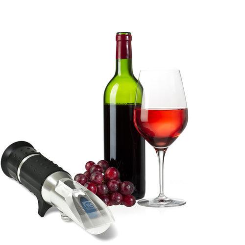 Eclipse refractometer for wine
