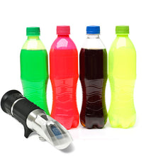 Eclipse optical refractometer for measuring sugar concentration in soft drinks
