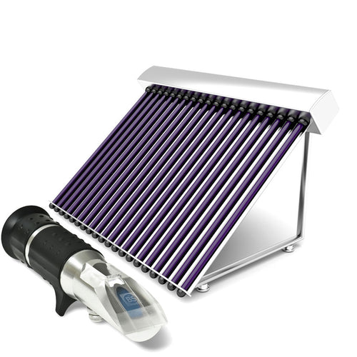 Refractometer for testing glycol concentrations
