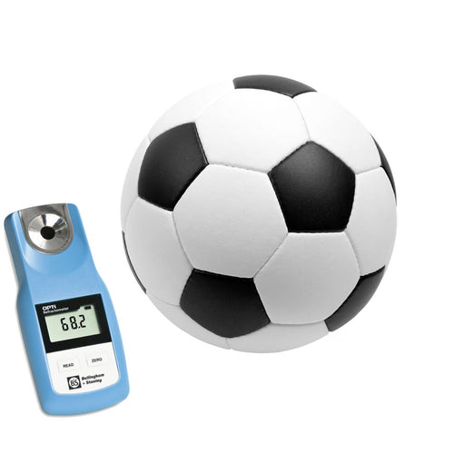 OPTi digital refractometer for athletes and hydration monitoring