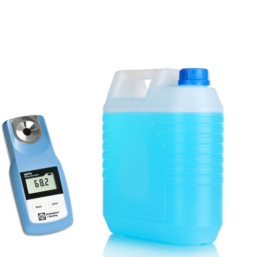 Refractometer for testing antifreeze and DEF