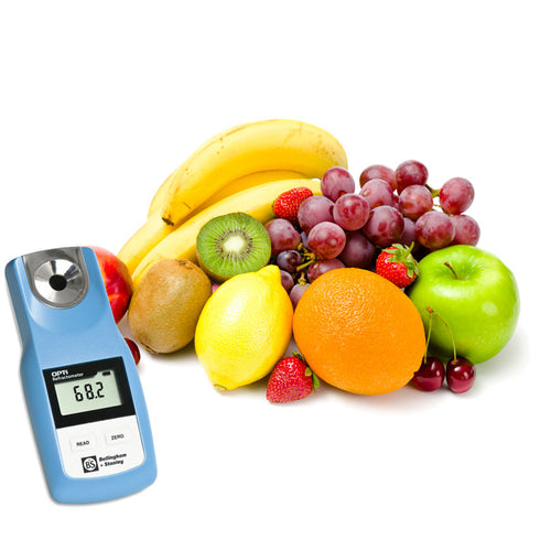 OPTi refractometer for food and beverage