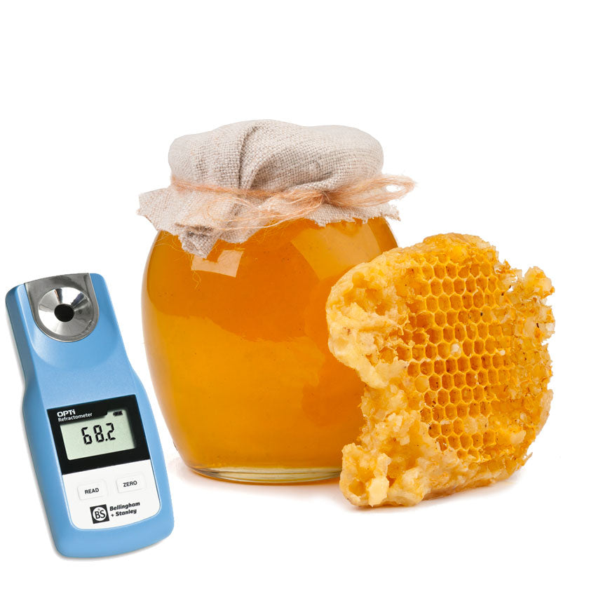 OPTi Refractometer for honey