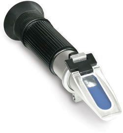 E-Line ATC Optical Refractometer 0-40 Brix / 0-25 Alcohol Probable