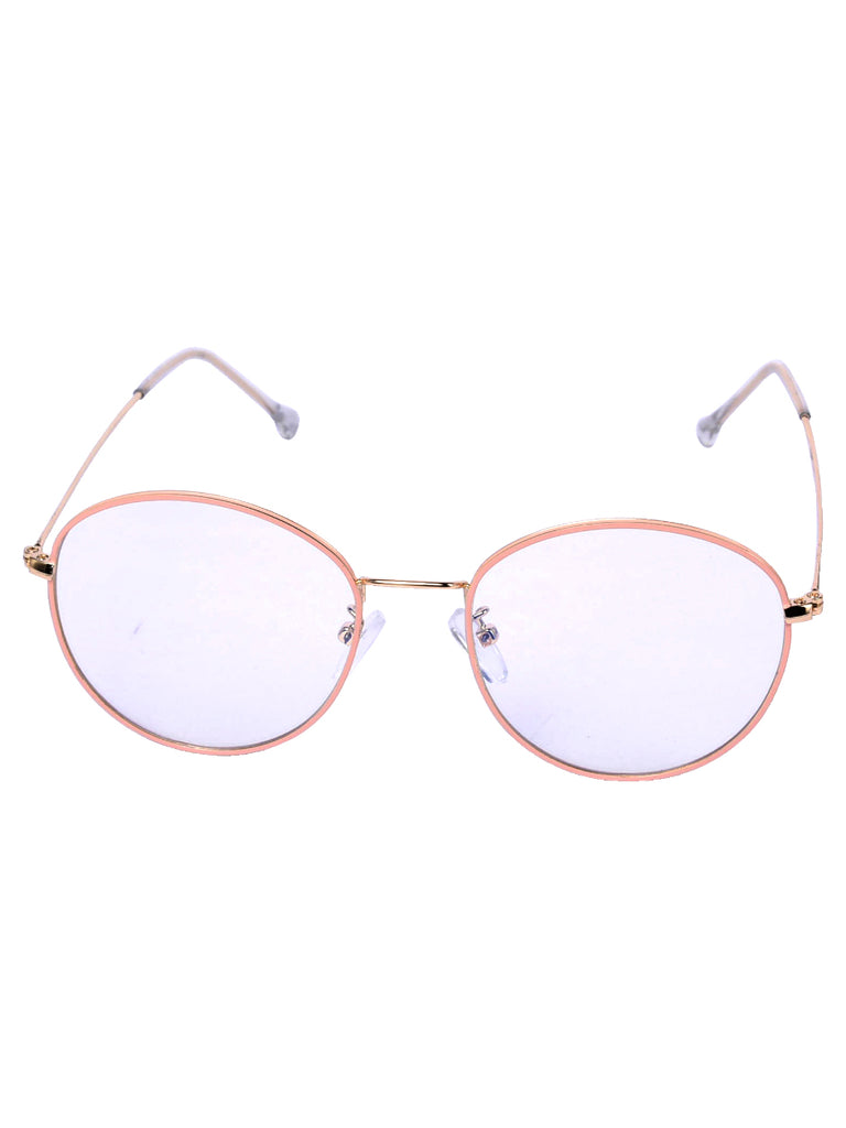 Round the Clock glasses in Blush