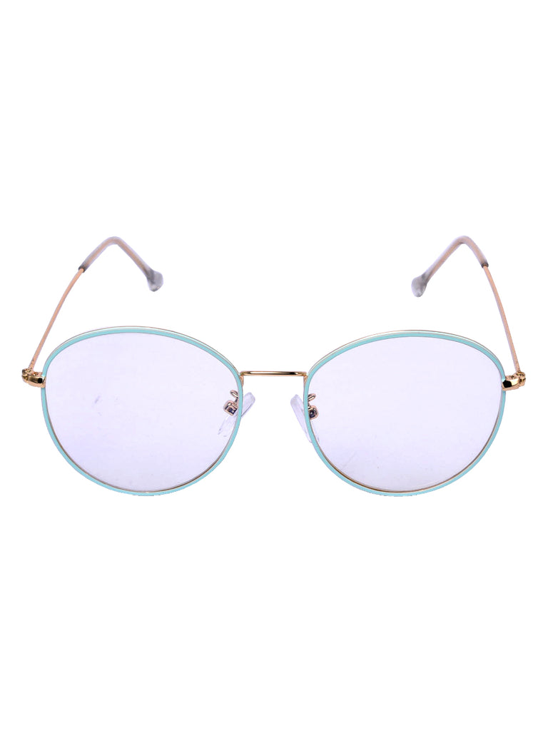 Round the Clock Glasses in Baby Blue