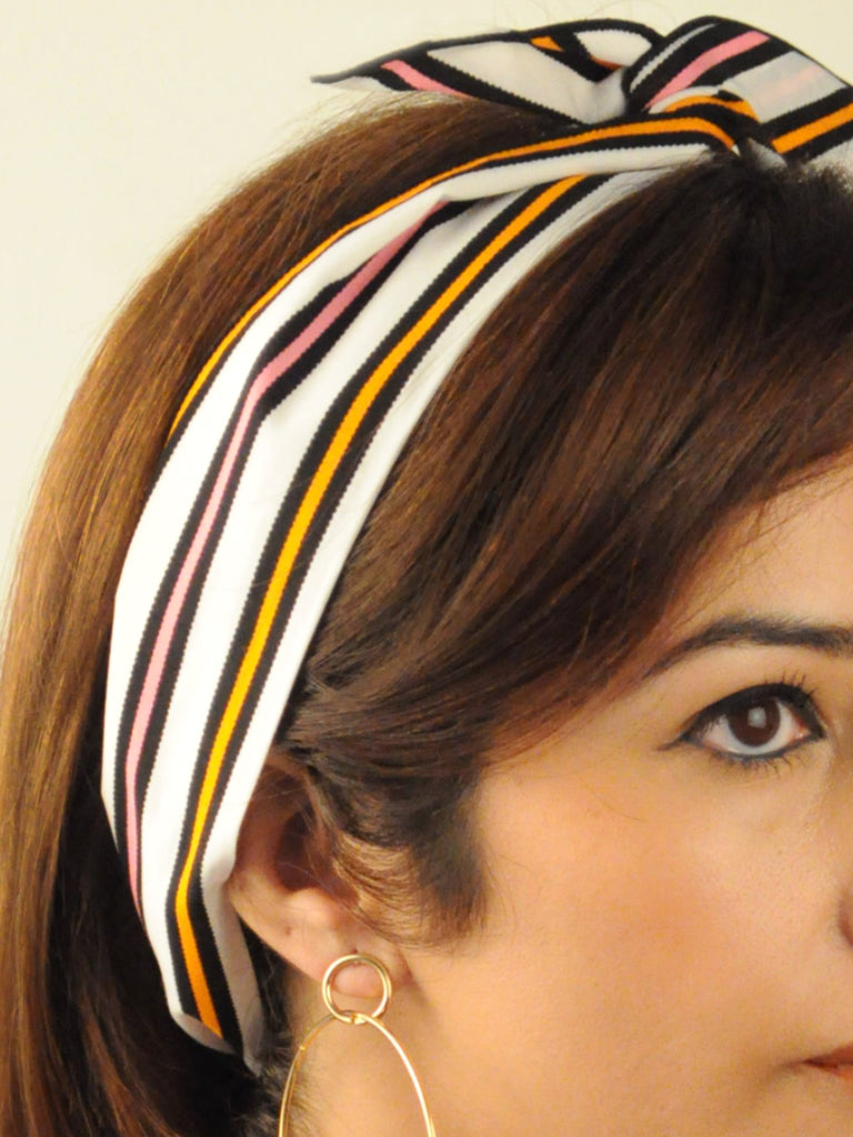 Sorbet Stripes Head Wrap