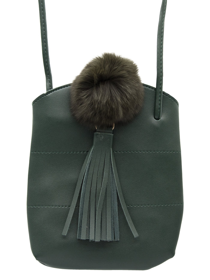 FLASSEL BUCKET BAG IN TEAL