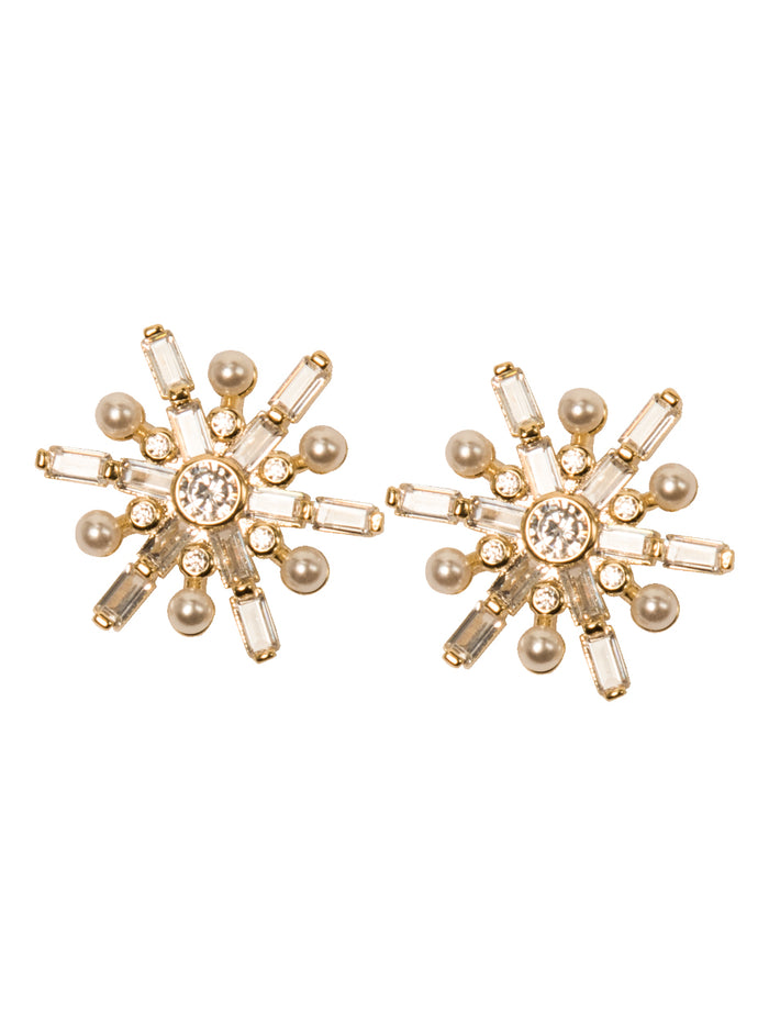 Sebella stud earrings in Gold